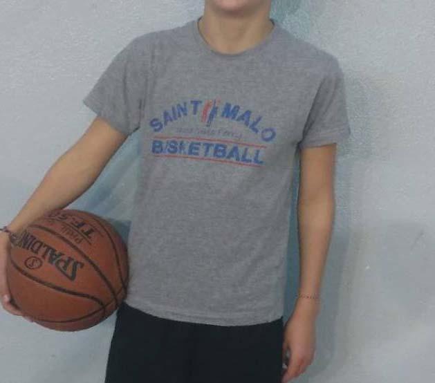 tee-shirt cjf basket
